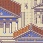 Classical Temple Mockup